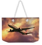 American Airlines 767 N345an Weekender Tote Bag
