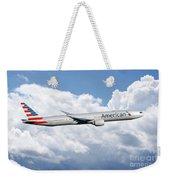 American Airlines Boeing 777 Weekender Tote Bag
