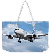 American Airlines Boeing 787 Dreamliner Weekender Tote Bag
