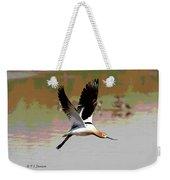 American Avocet Flying Weekender Tote Bag