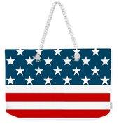 American Beach Towel Weekender Tote Bag