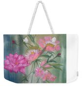 American Beauty Rose Weekender Tote Bag