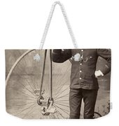 American Bicyclist, 1880s Weekender Tote Bag