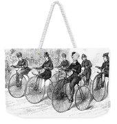 American Bicyclists, 1879 Weekender Tote Bag