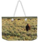 American Bison Weekender Tote Bag