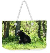 American Black Bear Weekender Tote Bag