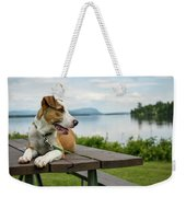 American Breed On Table Weekender Tote Bag