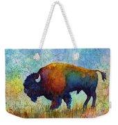 American Buffalo 5 Weekender Tote Bag
