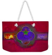 American Cats And Flowers Weekender Tote Bag