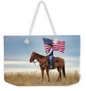 American Cowgirl Weekender Tote Bag