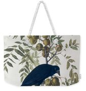 American Crow Weekender Tote Bag by John James Audubon