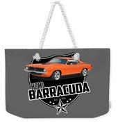 American 'cuda Weekender Tote Bag