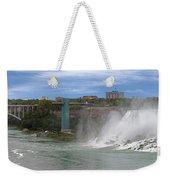 American Falls And Rainbow Bridge Weekender Tote Bag