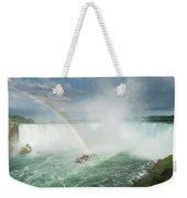 Horseshoe Waterfall At Niagara Falls Weekender Tote Bag
