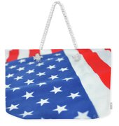 American Flag 2 Weekender Tote Bag