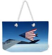 American Flag F 117 Nighthawks Weekender Tote Bag