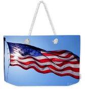 American Flag Fort Sumter Weekender Tote Bag