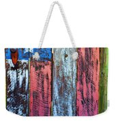 American Flag Gate Weekender Tote Bag