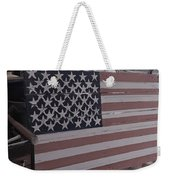 American Flag Shop Weekender Tote Bag
