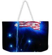 American Flag. The Star Spangled Banner Weekender Tote Bag