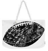 American Football-black Weekender Tote Bag