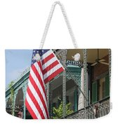 American French Quarter Weekender Tote Bag