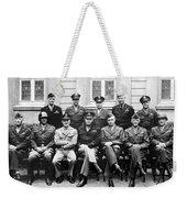 American Generals Wwii  Weekender Tote Bag