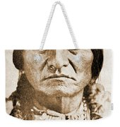 American Indian Chief Weekender Tote Bag