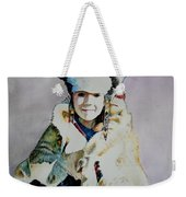 American Indian Girl Weekender Tote Bag