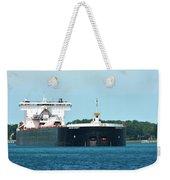 American Integrity Ship Weekender Tote Bag