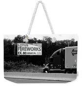American Interstate - Pennsylvania I-80 Bw 2 Weekender Tote Bag