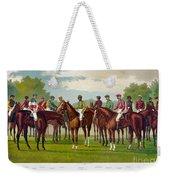 American Jockeys, 1889 Weekender Tote Bag