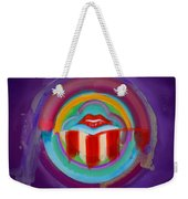 American Kiss Weekender Tote Bag