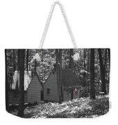 American Little House In The Woods Weekender Tote Bag