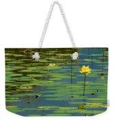 American Lotus Weekender Tote Bag