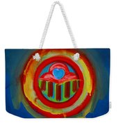 American Love Button Weekender Tote Bag