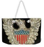 American Metal Eagle Weekender Tote Bag