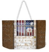 American Native Finger Prints Weekender Tote Bag