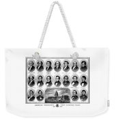American Presidents First Hundred Years Weekender Tote Bag by War Is Hell Store