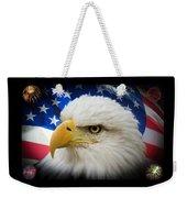 American Pride Weekender Tote Bag by Shane Bechler