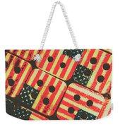 American Quilting Background Weekender Tote Bag