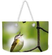 American Redstart Female 2 Weekender Tote Bag