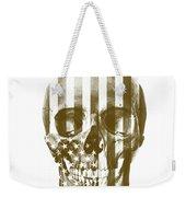 American Skull Beige Weekender Tote Bag
