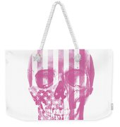 American Skull Pink Weekender Tote Bag