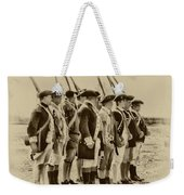 American Soldiers At Fort Mifflin Weekender Tote Bag