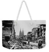 American Soldiers In Cologne, Germany Weekender Tote Bag