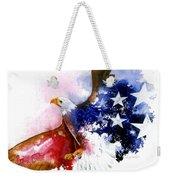 American Spirit Weekender Tote Bag
