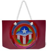American Star Button Weekender Tote Bag
