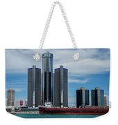American Victory At Detroit Weekender Tote Bag