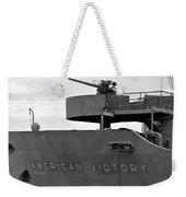 American Victory Ship Weekender Tote Bag